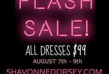 $99 FLASH SALE by ShavonneDorsey.com / Our BEST Sale for Curvy Women!