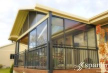 Glass & Screened Enclosures / Give life more living with a Spanline glass or screened room. With a whole range of shapes, styles and feature combinations, the design options will help your imagination run free.