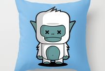 Funny and Cute Pillow Collection