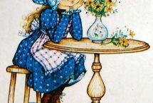 Illustration - Miss Petticoat
