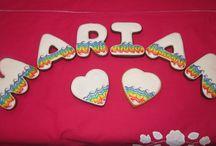 Mis galletas / Galletas que yo he hecho.