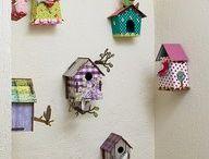 Domčeky pre vtáčiky