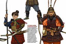 Japan: Samurai & other warrior