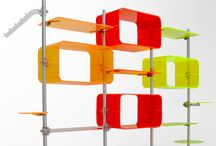 FLUOSHOP SHELVING / Complete display system for fitting out windows, stores and showrooms