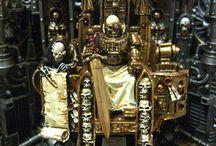 God king throne