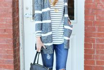 Winter Stripes Outfits