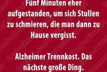 Funny / Lustige Sprüche