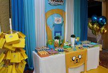 Júlia Adventure Time Party