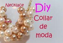 Collares/Pulseras / Creación de collares/Pulseras.
