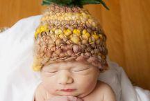 Newborn hats / The cuteset handmade newborn hats