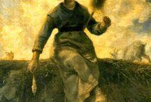 Millet, Jean-Francois e suas principais pinturas | Realismo