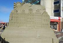 Sculptures de sable - Zandvoort / Concours de Sculptures de sable de Zandvoort - Hollande - 2016