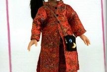 выкройки на куклу паола