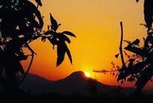 Sunset in Latehar