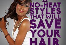 No Heat hair