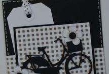 Kaarten maken met fiets