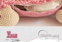 muñeco crochet gigante