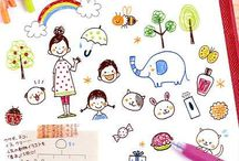 Cute Stickers & Ilustrations