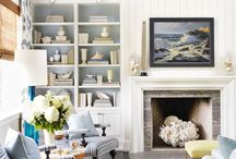 New Old Fireplace / Beautiful new ways to use outdated fireplaces.