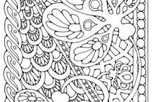 Coloring pages / by Pat Loveless Brooks