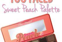 too faced peach pallette
