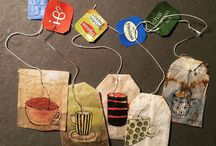 tea bags art