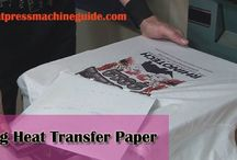 USING HEAT TRANSFER PAPER