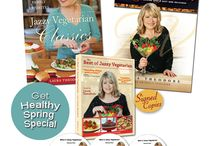 SPRING BOOK/DVD SPECIAL! / by Laura Theodore, the Jazzy Vegetarian
