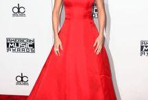 Red carpet dresses