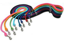 Rope Collars and Leashes / Braided rope in dozens of styles, all great for walking and training