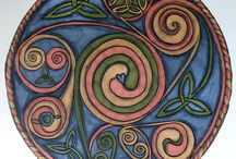 Celtic Mandalas / Mandalas with Celtic design elements