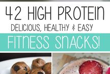 High protein snacking