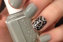 nails animal print and pets
