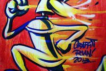 Artwork  / Local artists showcasing their talent
