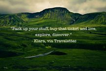 Oh the places you'll go.  / by Laura Kelly