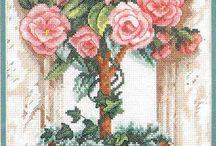 цветочные, фруктовые деревья
