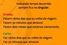 Língua Portuguesa ( dúvidas)