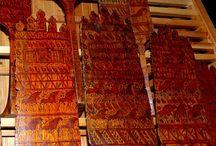 Старинная мезенская роспись