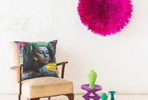 INTERIORS / Bold, bright and beautiful home decor inspiration.
