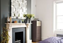 Grey feature walls