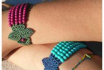 Bracelets Dreamade by Demeter / Handmade macrame bracelets