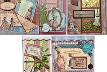 My Card Classes / Here are some of my card layouts taught in class.