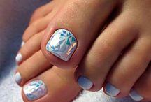 paznokcie stopy