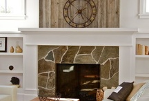Fire place ideas / by Amy Edwards-Whiteley