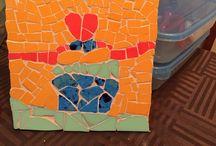 Trabajos en Mosaico de Marigel