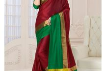 #Royal Looking In This Cotton Saree... Buy Now Only @ Styloshopping.com