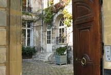 COURTYARDS / Courtyards, walled gardens, secret hideaway places... / by •❈•Sue Finnerty•❈•