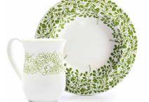 Ceramic Dinnerware / Hand Painted Stoneware- for real gourmet chefs!