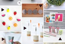 DIY Project Inspiration / Inspiration images for upcoming diy projects on the blog - TheCreativeGlow.com