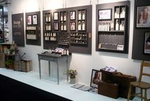 Boop Design displays and shows / Here are a few photos of my display stands at various shows I attend both retail and trade shows.